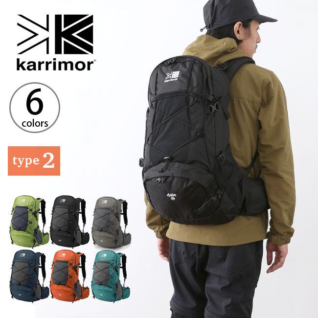 カリマー デール28 タイプ2 karrimor dale 28 type2 リュック リュックサック ザック バックパック 28L <2018 秋冬>