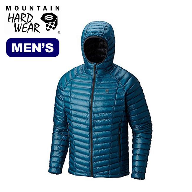 マウンテンハードウェア ゴーストウィスパラーフーデッドダウンジャケット Mountain Hardwear  Ghost Whisperer Hooded Down Jacket ポケッタブルクライミング メンズ コート アウター ダウン 17FW