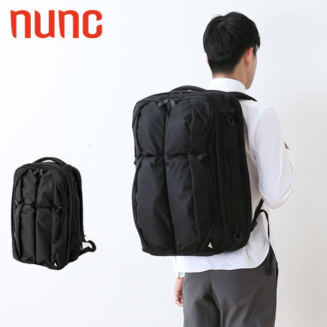 ヌンク トラベラーズバックパック  nunc Traveler's Backpack バックパック リュック リュックサック ブリーフケース 3way 3ウェイ <2018 秋冬>