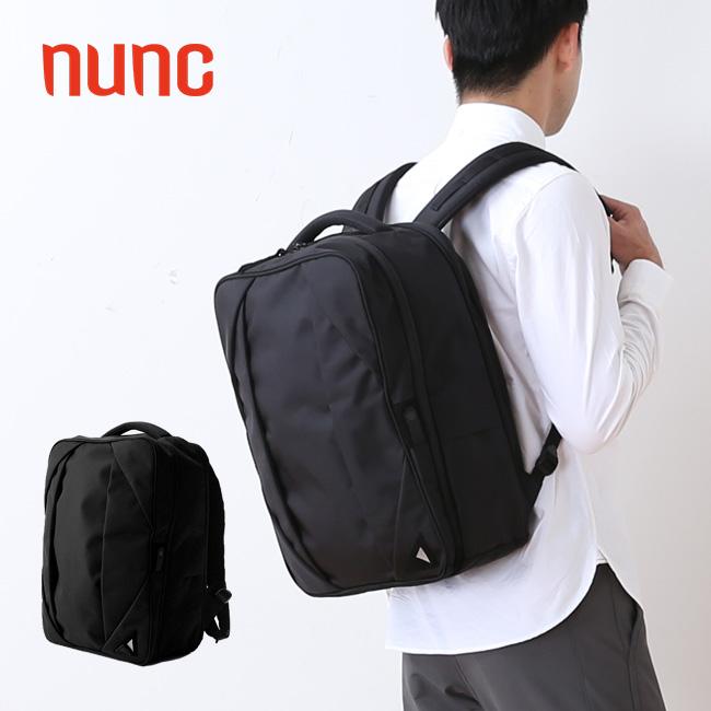 【キャッシュレス 5%還元対象】ヌンク レクタングルバックパック レクタングル nunc Rectangle Backpack バッグパック リュック リュックサック デイパック NN002010 <2019 秋冬>
