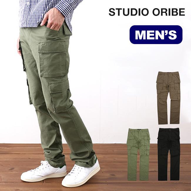 スタジオオリベ 8ポケットパンツ STUDIO ORIBE 8 POCKET PANTS メンズ ロングパンツ ボトムス 長ズボン カーゴパンツ <2018 秋冬>