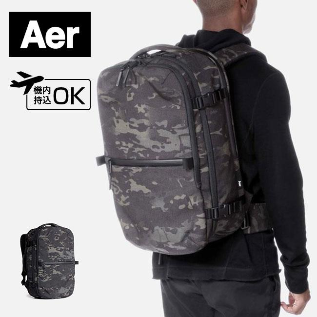 エアー トラベルパック2(ブラックカモ) Aer Travel Pack 2 バッグ リュック スーツケース PC収納 ビジネス 機内持込可 <2018 秋冬>