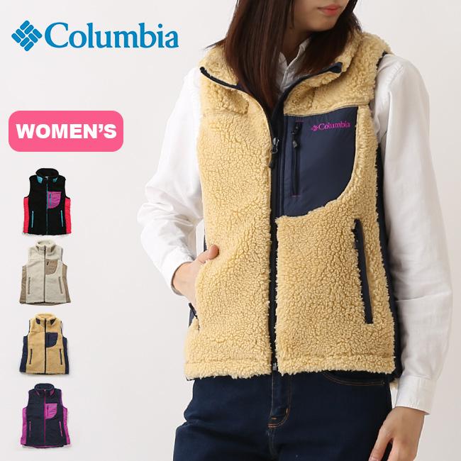 コロンビア アーチャーリッジ【ウィメンズ】ベスト Columbia Archer Ridge Women's Vest レディース ベスト フリース フリースベスト アウター <2018 秋冬>