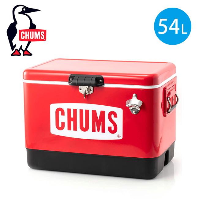 チャムス チャムススチールクーラーボックス54L CHUMS CHUMS Steel Cooler Box 54L CH62-1283-0000-00 クーラーボックス クーラー 保冷ボックス 保冷バッグ <2019 秋冬>