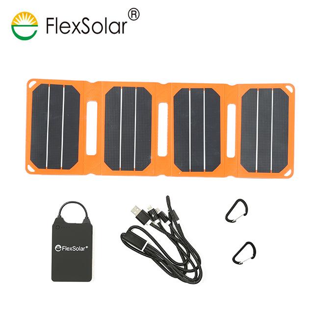 フレックスソーラー ポケットパワーセット FlexSolar Pocket Power Set バッテリー・充電ケーブル アウトドア 秋冬