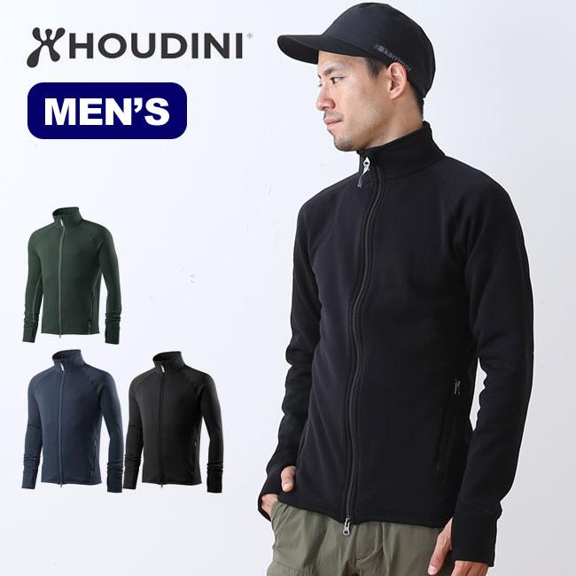 フーディニ メンズ パワージャケット HOUDINI Power jacket フリース アウター パーカー 男性 <2018 秋冬>