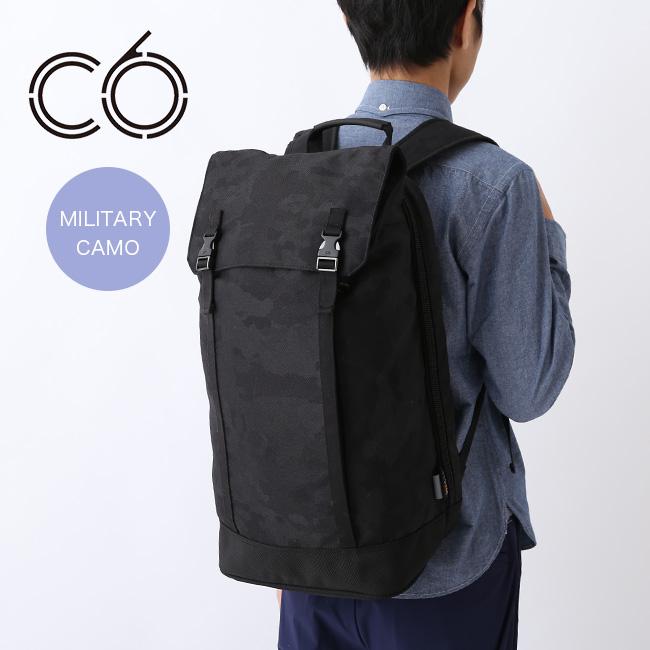 シーシックス ジェネシスバックパック ミリタリーカモ C6 Genesis Backpack Durable Nylon バッグ リュック バックパック デイパック <2018 秋冬>