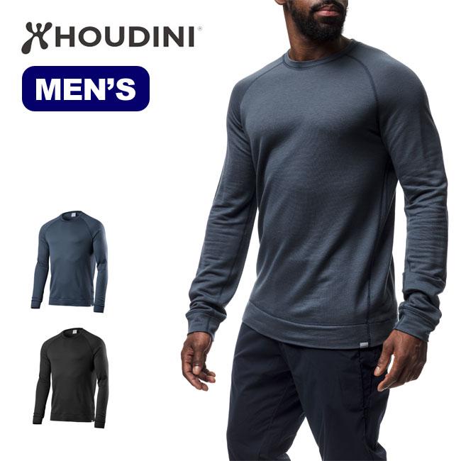 フーディニ メンズ マイクルー HOUDINI Mens My Crew シャツ インナー 長袖Tシャツ sp18fw