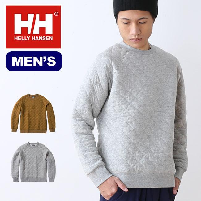 ヘリーハンセン キルトスウェットクルー HELLY HANSEN Quilt Sweat Crew スウェット トレーナー メンズ <2018 秋冬>