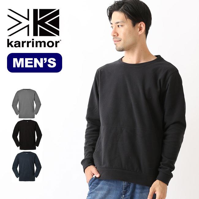 カリマー ロナ クルー karrimor rona crew 長袖 ロンT メンズ 男性 <2018 秋冬>