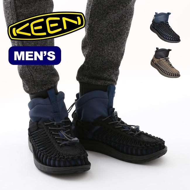 キーン ユニーク エイチティー ミッド メンズ KEEN MEN'S UNEEK HT MID MENS 靴 スニーカー ブーツ ハイカット 男性 <2018 秋冬>