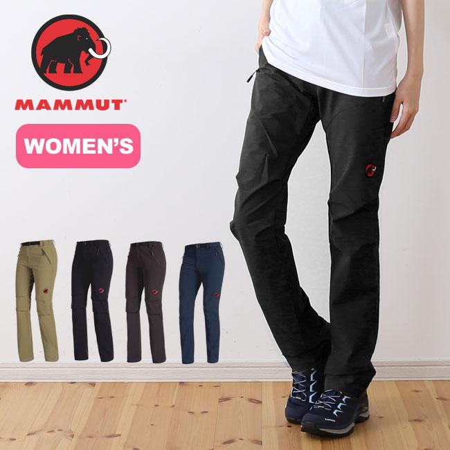 マムート ソフテック トレッカーズパンツ MAMMUT SOFtech TREKKERS Pants ウィメンズ レディース パンツ ロングパンツ トレッキングパンツ