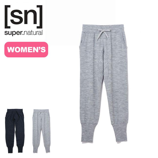 スーパーナチュラル 【ウィメンズ】エッセンシャルコフィードパンツ SUPERNATURAL W Essential Cuffed Pants ボトム パンツ ロングパンツ <2018 秋冬>