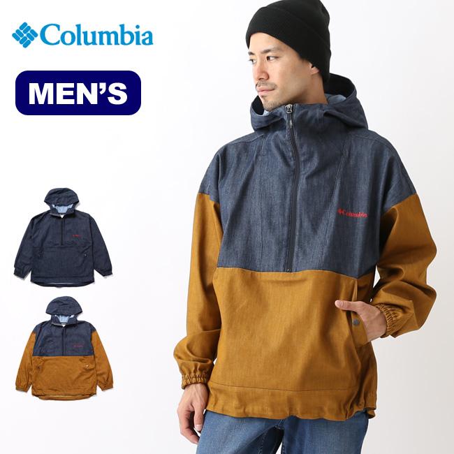 コロンビア テントヒルデニムアノラック Columbia ジャケット アウター メンズ PM3414 <2018 秋冬>