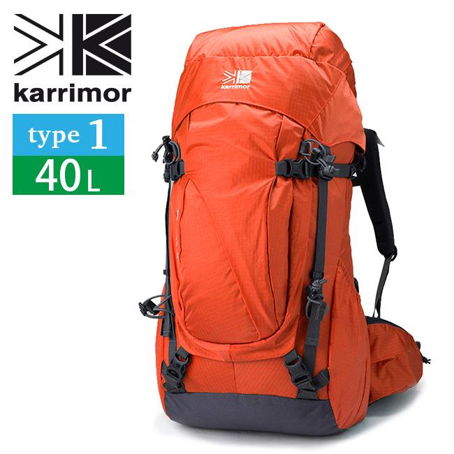 カリマー イントレピッド40 タイプ1 karrimor intrepid type1 レディース リュック リュックサック バックパック ザック 40L