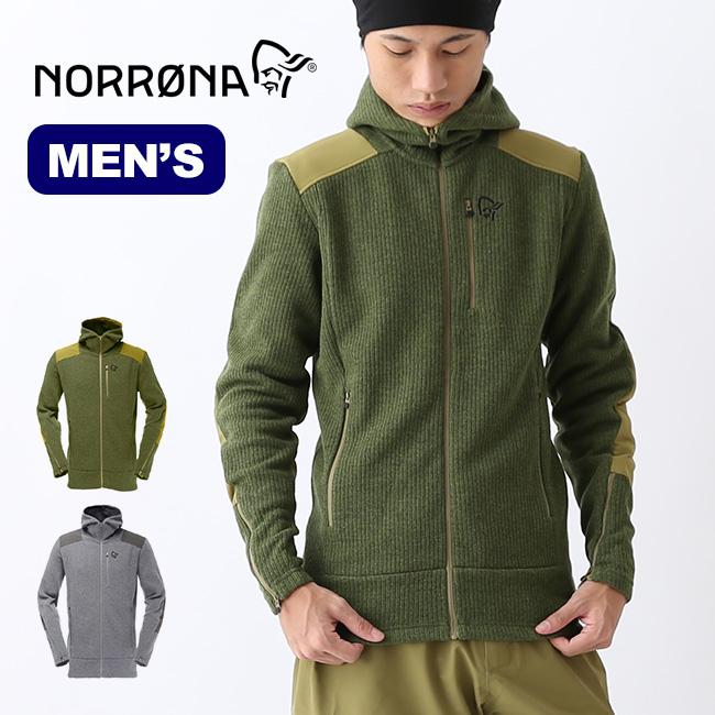 ノローナ タモック ウォームウール2ジップフード メンズ Norrona tamok warm /wool2 Zip Hood M メンズ ミッドレイヤー 5336-16 <2018 秋冬>