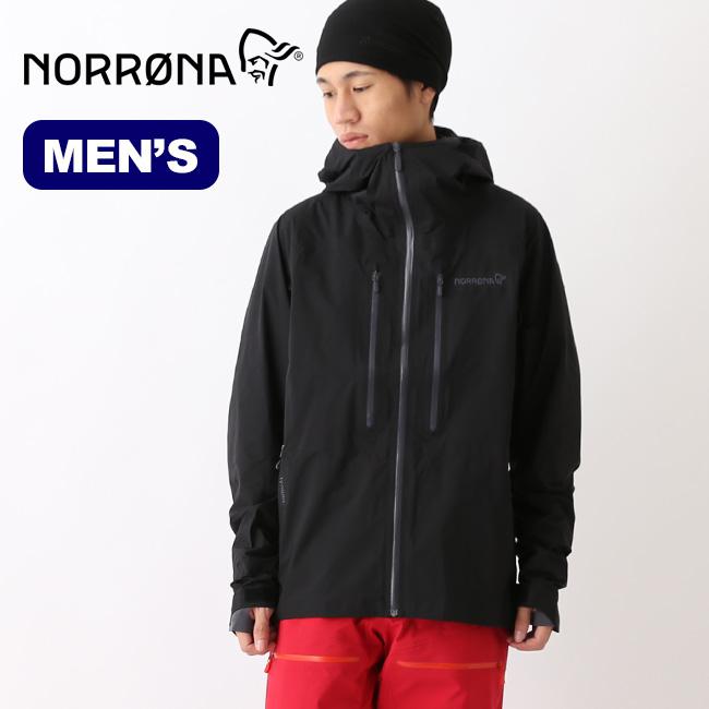 ノローナ リンゲン ゴアテックスジャケット メンズ Norrona lyngen Gore-Tex Jacket アウター シェルジャケット スノーウェア 2001-18 <2018 秋冬>