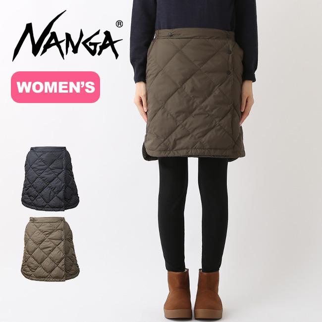 ナンガ ダウンスカート NANGA DOWN SKIRT ボトムス ダウン オーバースカート マウンテンスカート 防寒 <2018 秋冬>