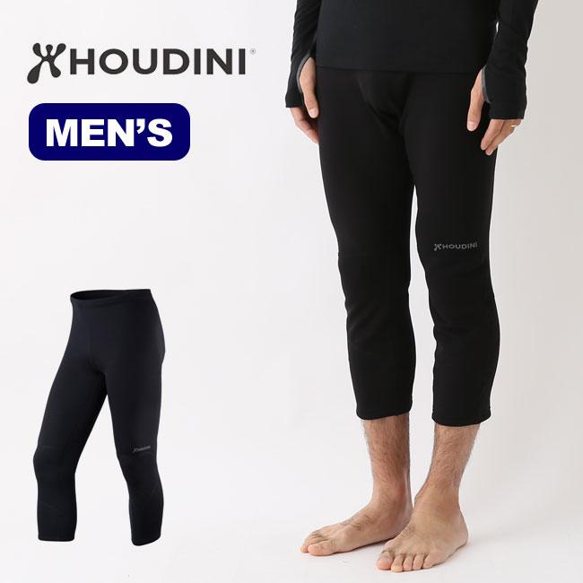 フーディニ メンズ ドロップニーパワータイツ HOUDINI Mens Drop Knee Power Tights 男性用 メンズ 防寒 インナー ベースレイヤー <2018 秋冬>