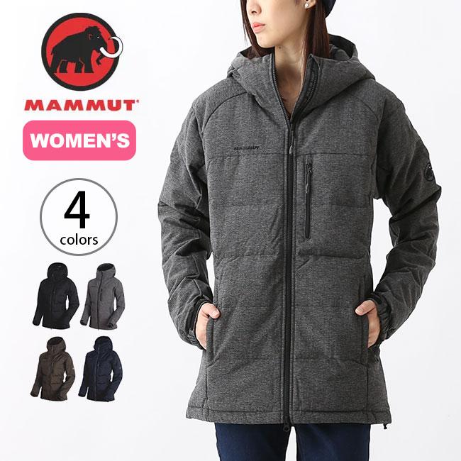 マムート セラックINフーデットジャケット【ウィメンズ】 MAMMUT SERAC Hooded Jacket Women レディース アウター ダウンジャケット ハイキング ソフトシェル インサレーション <2018 秋冬>