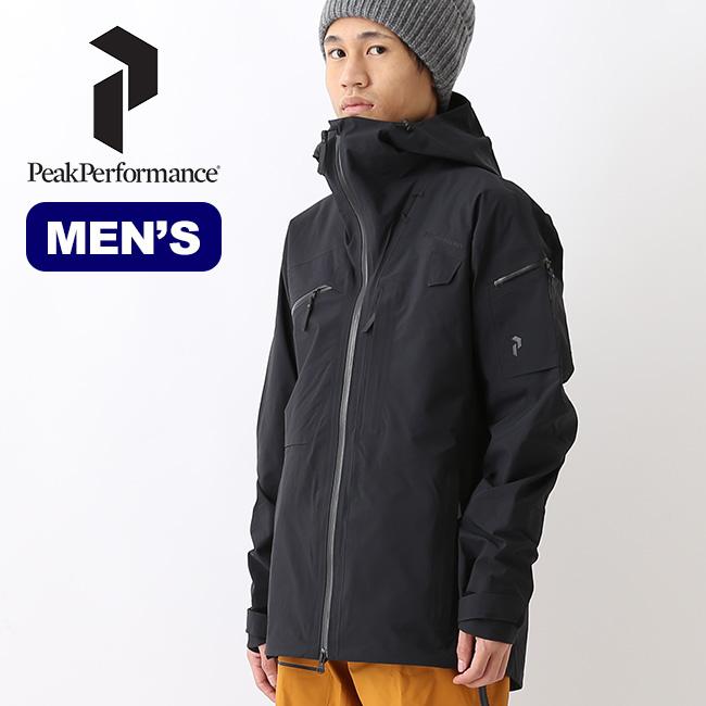 ピークパフォーマンス アルパインジャケット PeakPerformance Alpine Jacket アウター トップス ジャケット スキー バックカントリー メンズ <2018 秋冬>