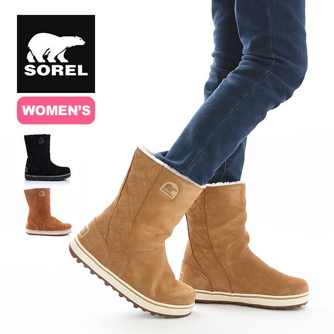 ソレル グレイシー 【ウィメンズ】 SOREL Glacy NL1975 レディース 靴 ブーツ 防水 ムートン アウトドア <2019 秋冬>