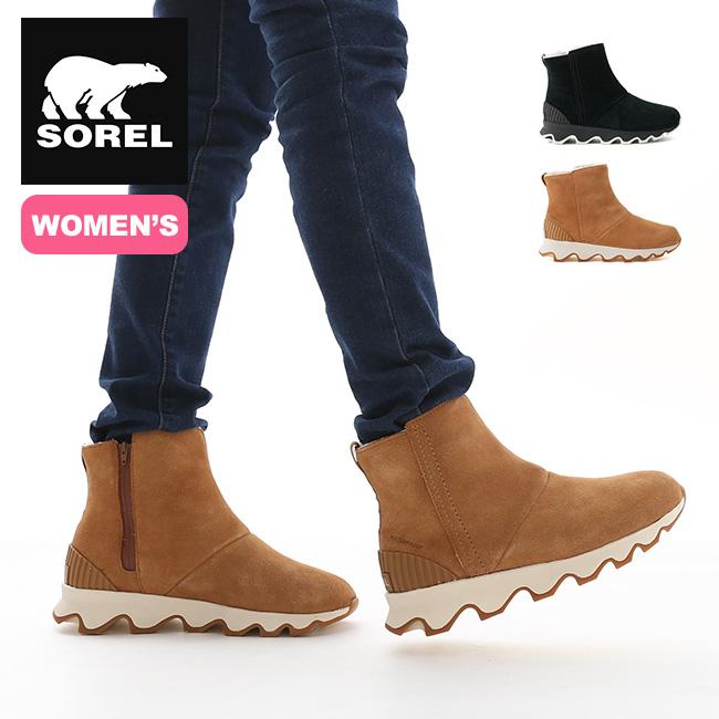 ソレル キネティックショート【ウィメンズ】 SOREL Kinetic Short NL3128 靴 ブーツ ショートブーツ レディース 女性 アウトドア <2019 秋冬>