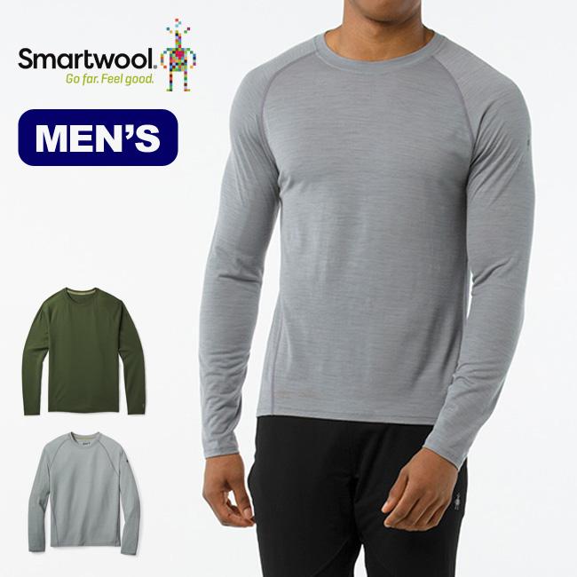 スマートウール メンズ メリノ150ベースレイヤーパターンロングスリーブ Men's Merino 150 Baselayer Pattern Long Sleeve メンズ アンダーウェア <2018 秋冬>