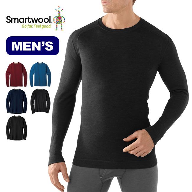 スマートウール メンズ メリノ250ベースレイヤークルー  Smartwool Men's Merino 250 Base Layer Crew メンズ ベースレイヤー <2018 秋冬>