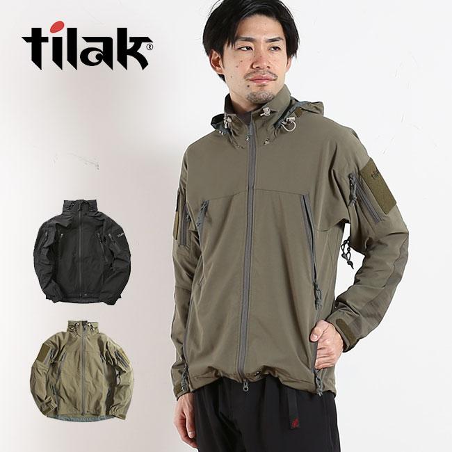 ティラック ノシャック MIG ジャケット Tilak Noshaq MIG jacket メンズ ジャケット アウター ワッペン ミリタリー 男性 <2018 秋冬>