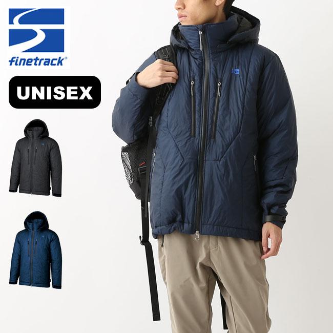 ファイントラック ユニセックス ポリゴンバリアフーディ(収納袋付き) finetrack アウター コート ジャケット トップス メンズ FLU0102 <2018 秋冬>