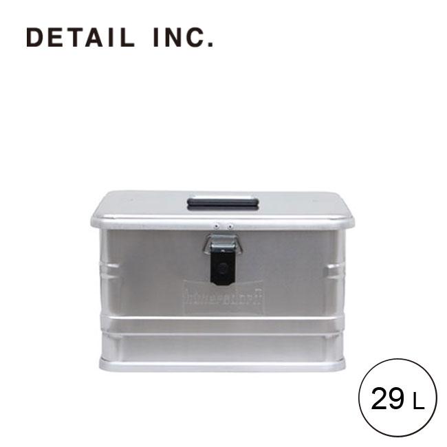 ディテール アルミニウムプロフィーボックス 29L DETAIL Aluminium Profi Box 29L アルミコンテナー BOX 328329[452000] <2019 春夏>