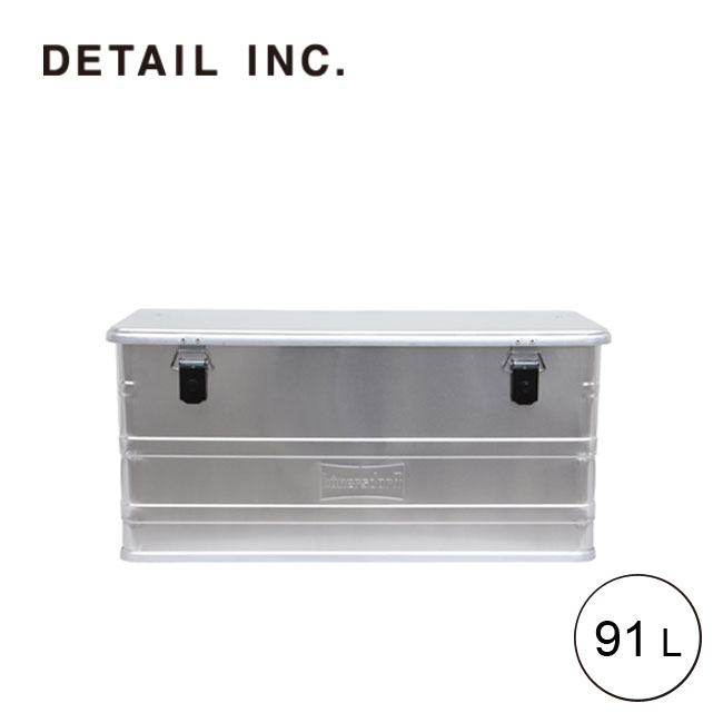 ディテール アルミニウムプロフィーボックス 91L DETAIL Aluminium Profi Box 91L アルミコンテナー BOX 328391[452300] <2019 春夏>
