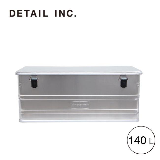 ディテール アルミニウムプロフィーボックス 140L DETAIL Aluminium Profi Box 140L アルミコンテナー BOX 3283140[452400] <2019 春夏>