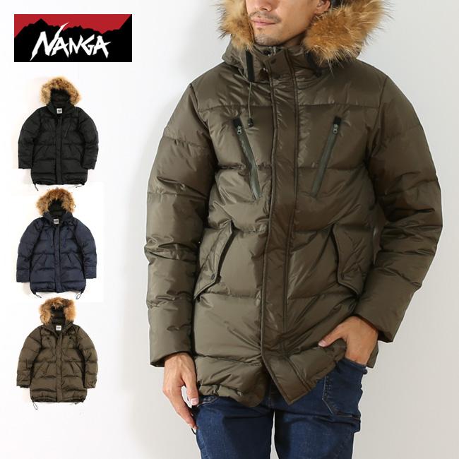 ナンガ ダウンハーフコート メンズ NANGA DOWN HALF COAT アウター コート ダウン ダウンコート アウトドア 秋冬