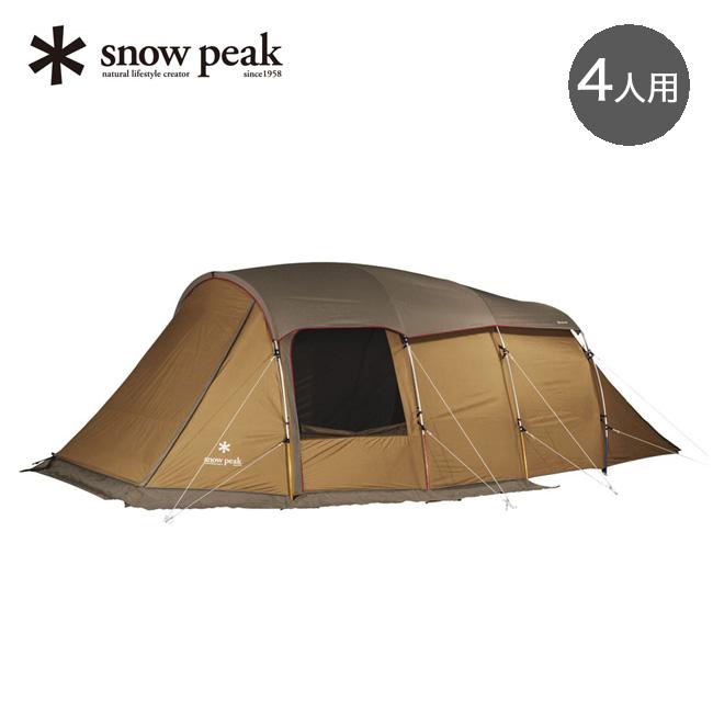 スノーピーク エントリー2ルーム エルフィールド snow peak ENTRY 2 ROOM ELFIELD テント 2ルーム 4人用 キャンプ アウトドア TP-880 <2019 春夏>