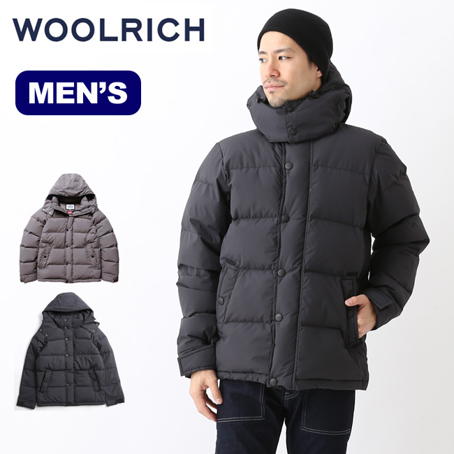 ウールリッチ メンズ ウィンドストッパーパフィーダウンパーカ WOOLRICH WINDSTOPPER PUFFY DOWN PARKA アウター ジャケット メンズ <2018 秋冬>