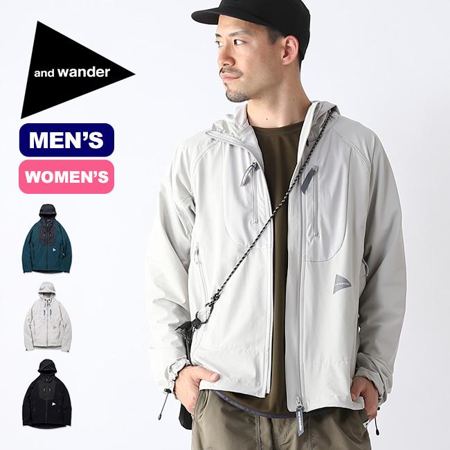 アンドワンダー トレックジャケット2 and wander trek jacket メンズ レディース ジャケット アウター ソフトシェル <2019 春夏>