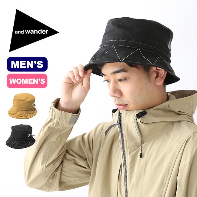 【キャッシュレス 5%還元対象】アンドワンダー 60/40 クロスハット and wander 60/40 cloth hat メンズ レディース ユニセックス 帽子 ハット <2019 春夏>