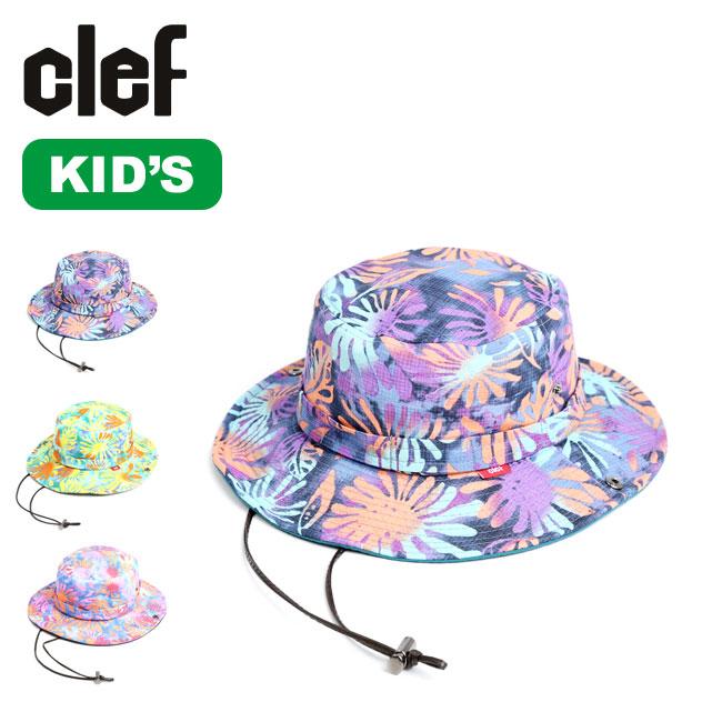 開店祝い 春夏 SALE 35%OFF クレ キッズサンセットハット Clef KIDS 10%OFF SUNSET HAT キッズ 子供 mailsa2108 女の子 男の子 RB3592KD フェス 帽子 正規品 アウトドア ハット キャンプ