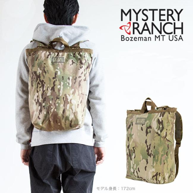 ミステリーランチ ブーティーバッグ MYSTERY RANCH BOOTY BAG リュック バッグ トートバッグ デイパック バックパック <2019 春夏>