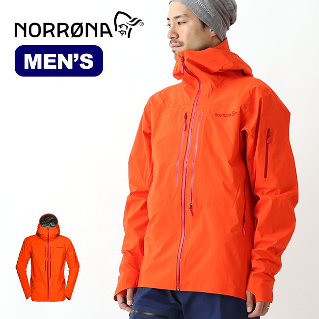 ノローナ ロフォテン ゴアテックス プロジャケット メンズ Norrona lofoten Gore-Tex Pro Jacket mens アウター ジャケット ハードシェル 1015-17 sp18fw