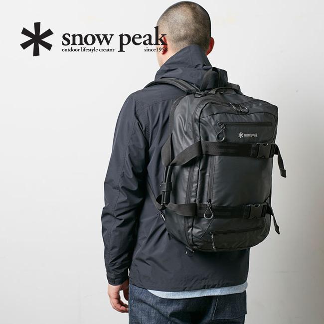 スノーピーク 3ウェイビジネスバッグ snow peak 3way Business Bagone Black バッグ リュック ショルダー ハンドバッグ ブリーフケース ウェア UG-729 <2019 春夏>