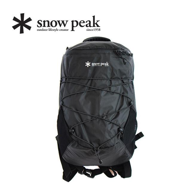 スノーピーク アクティブバックパックタイプ3 snow peak Active Backpack Type03 ONE Black ウェア バッグ リュック 15L UG-673 <2019 春夏>