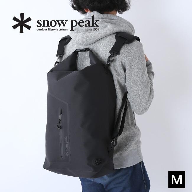 【キャッシュレス 5%還元対象】スノーピーク 4ウェイウォータープルーフドライバッグ(M) snow peak 4Way Waterproof Dry Bag M バッグ リュック 防水 バレルバッグ ウェア UG-376 <2019 春夏>