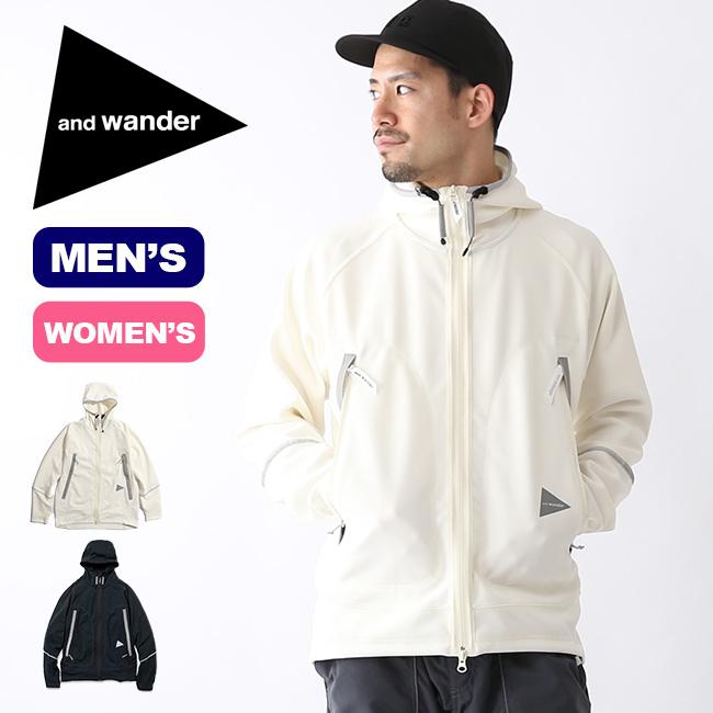 アンドワンダー UVシールドドライポンチフーディ and wander UV shield dry ponch hoodie メンズ レディース トップス パーカ ジャージ AW91-JT049 <2019 春夏>
