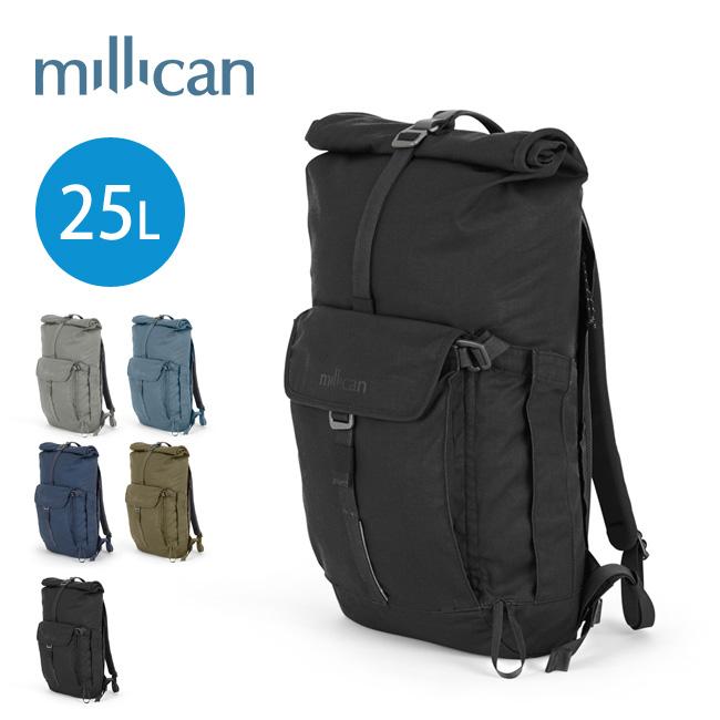 【キャッシュレス 5%還元対象】ミリカン スミス ザ ・ロールパック 25L millican SMITH THE ROLL PACK 25L リュック リュックサック 鞄 デイパック M011 <2019 春夏>