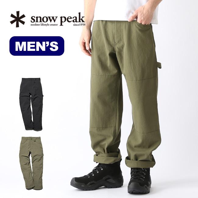 スノーピーク タキビパンツ snow peak TAKIBI Pants メンズ ボトムス ロングパンツ 焚き火 難燃性 PA-19SU104 <2019 春夏>