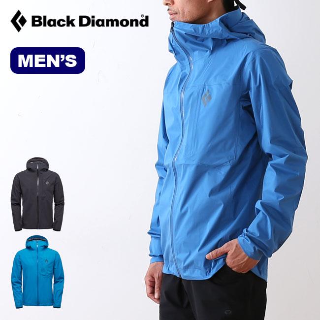 ブラックダイヤモンド メンズ ファインラインストレッチレインシェル Black Diamond FINELINE STRETCH RAIN SHELL メンズ ジャケット シェルジャケット レインウェア レインジャケット BD65010 <2019 春夏>