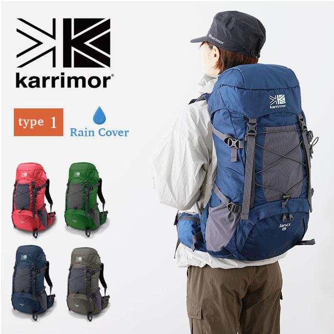 カリマー ランクス28 タイプ1 karrimor lancs 28 type1 バックパック リュック ザック レディース <2019 春夏>